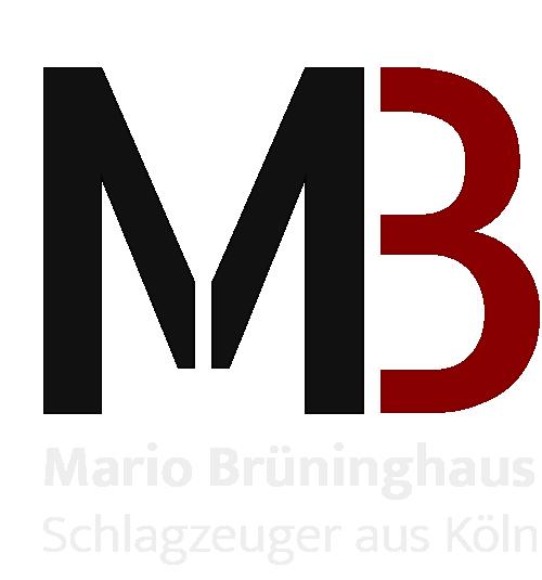 Schlagzeuger Köln, Mario Brüninghaus Logo